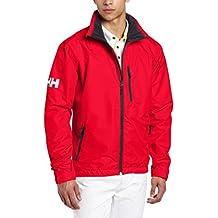 Helly Hansen Crew Men's Midlayer Jacket red Size:S by Helly Hansen