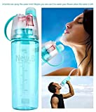 BLUE TOADS Plastic Water Bottle for Outdoor, Bicycle Cycling, Sports and Gym 600ml