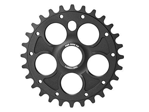 RMD Bike Co. | ALPHA kettenblatt BMX MTB Dirt | 23T 25T 28T | Schwarz und Rot | Made in EU |
