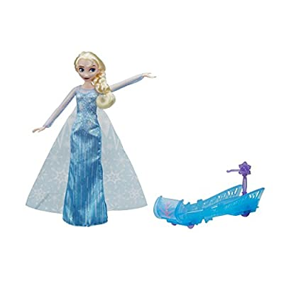 HASBRO Disney La reina de hielo e0086eu4Disney Frozen elsas trineo Fahrt, Juego por Hasbro