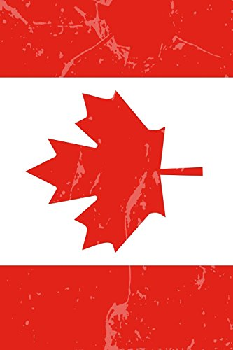 Canada Flag Journal: Lined Journal to write in, Canadian Souvenir Notebook