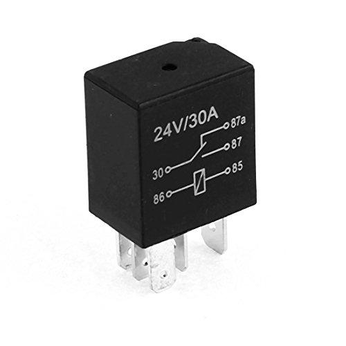 Alarm Auto Relay Switch 5 Pin SPDT NO NC 24 V, 30° Amp de -