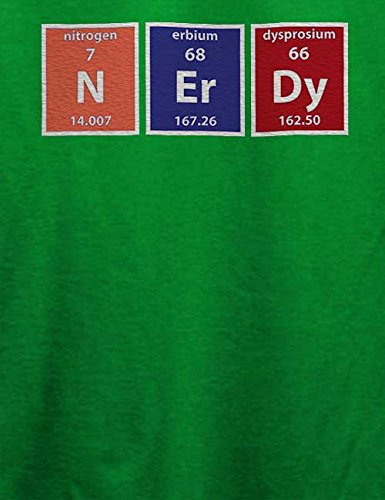 Nerdy Elements T-Shirt Grün
