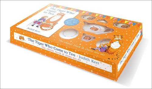 The Tiger Who Came to Tea - China Tea Set by Judith Kerr (2015-10-08)