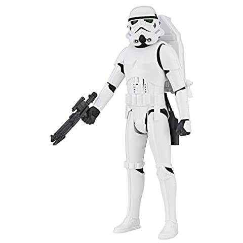 Hasbro – B7098 – Star Wars – Rogue One – Interactech Imperial Stormtrooper – Figurine Parlant Anglais 30 cm