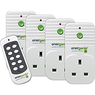 Energenie Remote Control Sockets (Pack of 4)