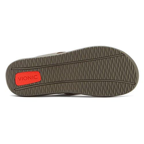 Vionic con tecnologia Orthaheel Unisex Wave orthatic Sandal Khaki