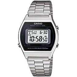 Casio Unisex-Armbanduhr Casio Collection Digital Quarz Edelstahl B640WD-1AVEF