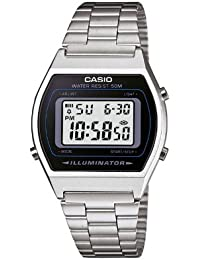 Casio Unisex-Armbanduhr Casio Collection Digital Quarz Edelstahl B640WD-1AVEF