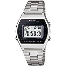 Casio Collection – Unisex-Armbanduhr mit Digital-Display und Edelstahlarmband – B640WD-1AVEF