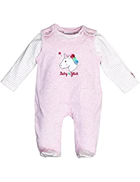 SALT AND PEPPER Baby-Mädchen Strampler BG Playsuit Uni Einhorn Ocs