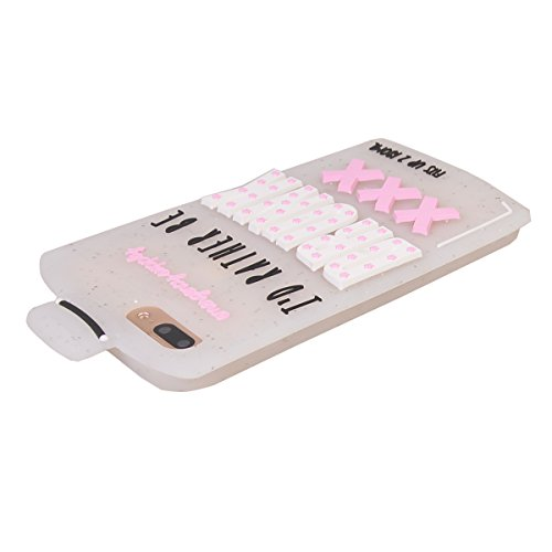 "iPhone 7 Plus (5.5"") Hülle,COOLKE 3D Fashion Klassische Karikatur weiche Silikon Shell Schutzhülle Hülle case cover für Apple iPhone 7 Plus (5.5"") - 004 013"