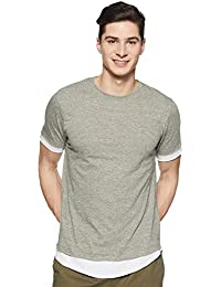 SKULT by Shahid Kapoor Men's Blended Relaxed Fit T-Shirt
