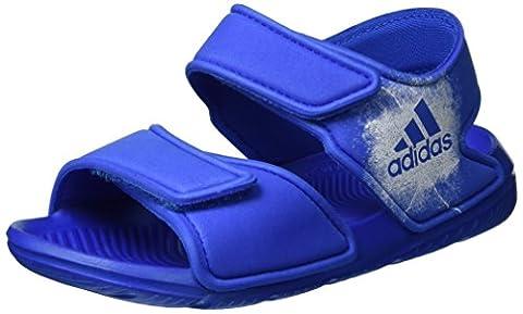 adidas Altaswim, Sandales Garçon, Bleu (Blue/Ftwr White/Ftwr White), 28 EU