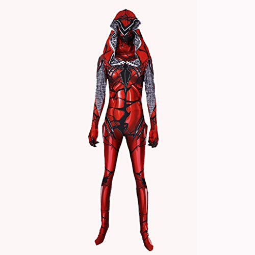 Tasche Kostüm Female Body - YEGEYA Cosplay Kostüm Halloween Roter Mantel Overall Erwachsene Partei Requisiten (Color : Woman, Size : M)
