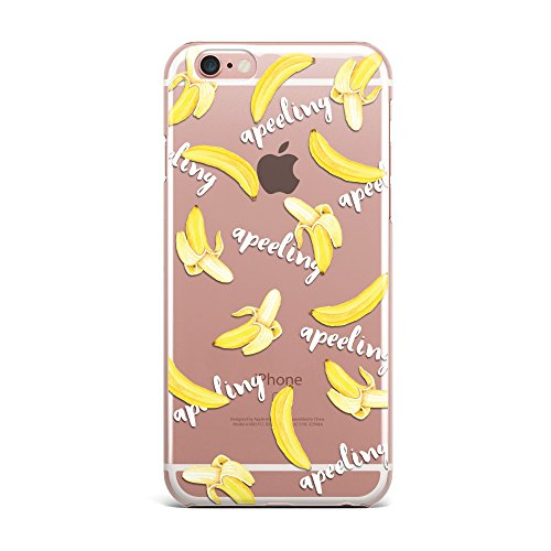 Blitz® PIZZA Schutz Hülle Transparent TPU Cartoon Comic iPhone  All Avocado M4 iPhone 5 Love Banana M5