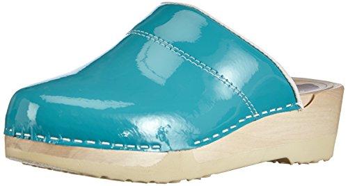 Gevavi - 3800 Bighorn Flexibler Clogs Aqua Lack #36, Zoccolo da donna Blu (Blau  (blau (aqua lak) 88))