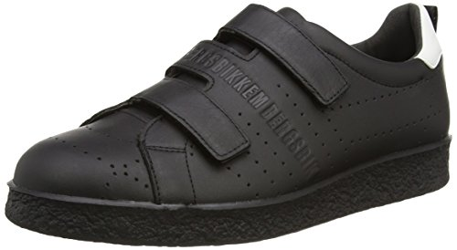 Bikkembergs Best 460 L.Shoe M Leather, Sneaker, Uomo, Nero (Black), 40