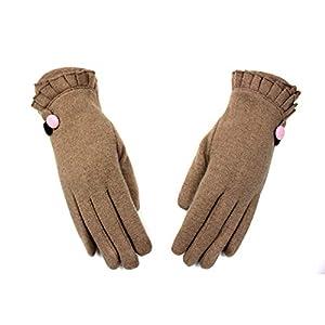 G-C-H GCC Touchscreen-Handschuhe warme Kaschmir Damen Bestickt