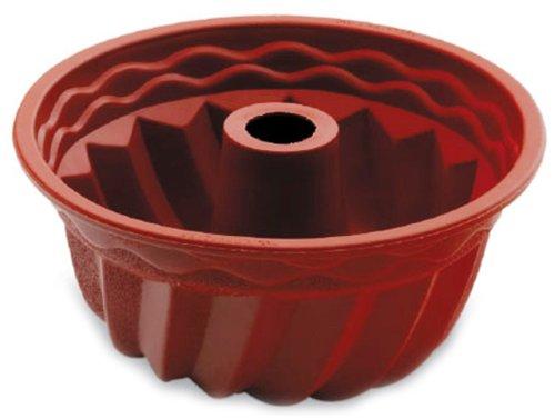 Lacor Savarin 66735 - Molde alto, silicona, rojo width=
