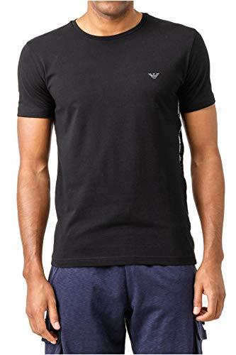 Emporio Armani T-Shirt mit Rundhals Kurzarm Männer Herren Artikel 211813 9P462