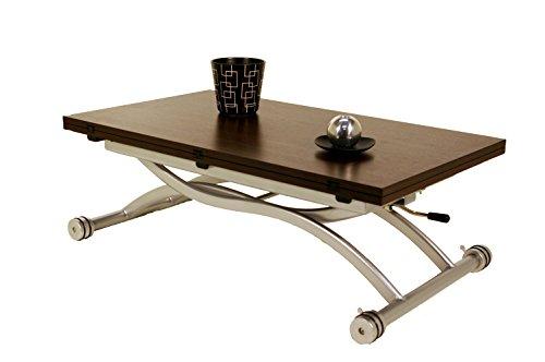 giovanni marchesi design Table Basse RELEVABLE par Piston A GAZ Mirage WENGE