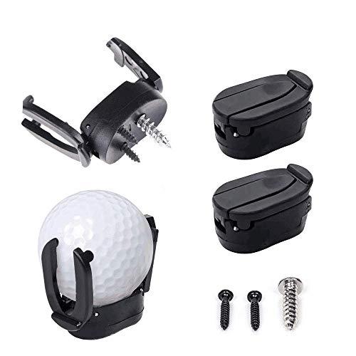 INHEMI 4 Stück Mini Golf Ball Pick up Zurück Werkzeug Greifer Putter Grip Retriever Grabber Golf Zubehör