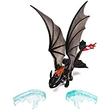 Como Entrenar a tu Dragon 2 - Chimuelo - Accion de lanzamiento del hielo