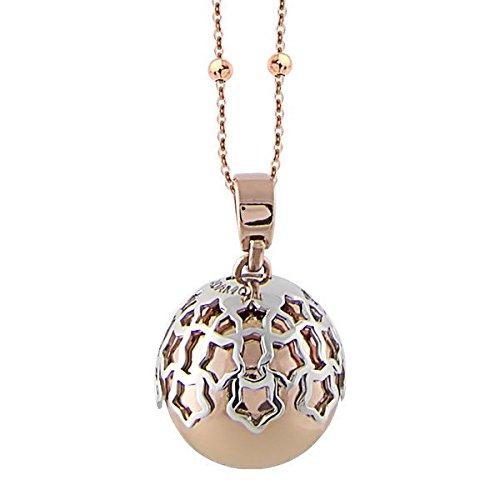 Halskette Boccadamo Engelsrufer rosa mit Anhänger SOUND und Stichsäge von Sterne Ref. trgr06