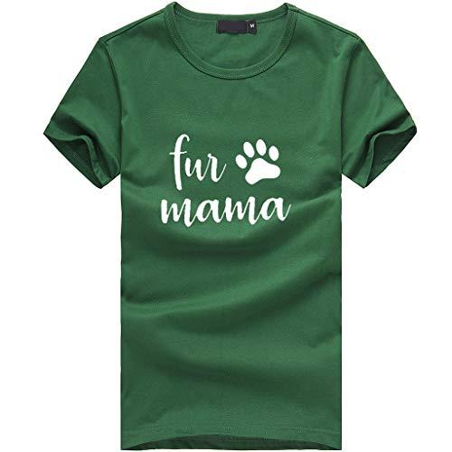 PorLous T-Shirt, 2019 Frau Frauen Mädchen Druck T-Shirt Lässige Oansatz Kurzarm Bluse Tops Paar Valentinstag Rundhalsausschnitt Kurze Ärmel