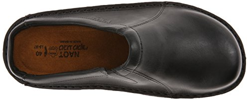 Naot Mens Bjorn Leather Sandals Schwarz