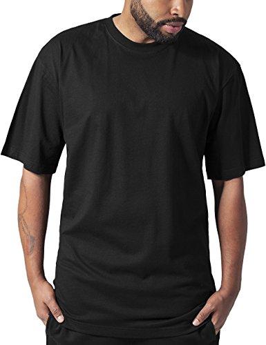 Urban Classics TB006 Herren T-Shirt Tall Tee | Oversize Shirt, Schwarz (Black 7), XXXX-Large