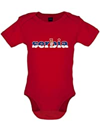 ff1e40420af4c Dressdown Coupe du Monde de Football - Serbie - Bébé-Body - 7 Couleur -