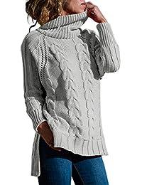 Suchergebnis auf für: Pullover Zopfmuster Grau