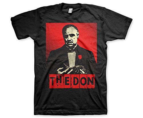 Don Corleone The Don Der Pate Mafia - Herren T-Shirt - Geschenkideen L
