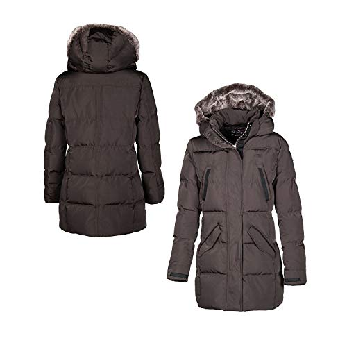 Equiline Wintermantel Blanca,Brown,S Brown | S