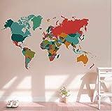 Rureng Couleur MondeSticker Mural Salon Chambre Décor À La Maison Pvc Sticker Mural Import...