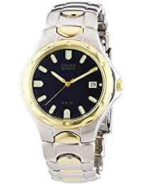 Citizen Herren-Armbanduhr XL Analog Quarz Alloy BI0534-55L