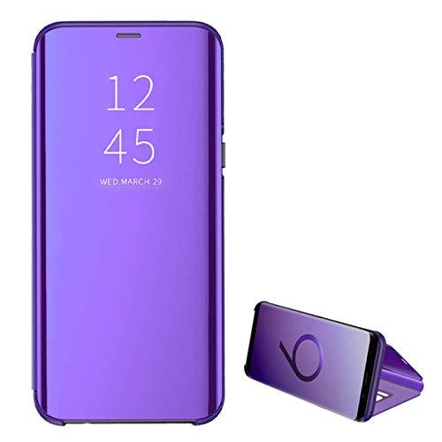 febae5c50a0 Hülle kompatibel mit iPhone 6 6S Spiegel Silikon Bumper Flip Folio Clear  View Wallet Case Full