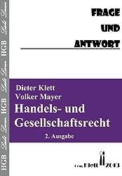 Handels- und Gesellschaftsrecht  Frage und Antwort: Fragenkatalog