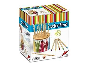 Cayro 863 - Juego Educativo, para 2 o más Jugadores (863) (Importado) - Colorfind de Madera, Juego de Mesa