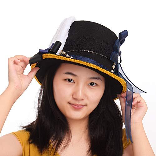 (BLESSUME Steampunk Oben Hut mit Niedlich Hase Ohren Halloween Party Kostüm Oben Hut)