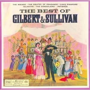 The Best Of Gilbert And Sullivan Vinyl 3 Lp Box Set With
