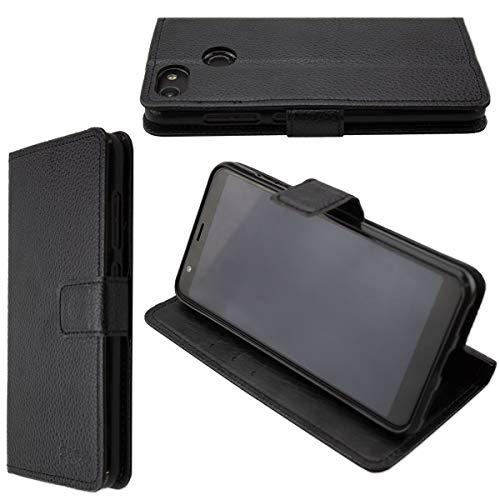 caseroxx Tasche Case Hülle Bookstyle-Case für Gigaset GS280 in schwarz