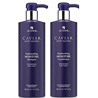 Alterna Caviar Anti-Aging Replenishing Moisture DUO: Shampoo And Conditioner (16.5 oz Each)