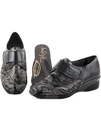 Zapatos Estil Anchos Especiales Inestyle 1901 Corte-Piel,Forro-Textil,Plantilla-Piel.Tacón:4cm.Hecho en…