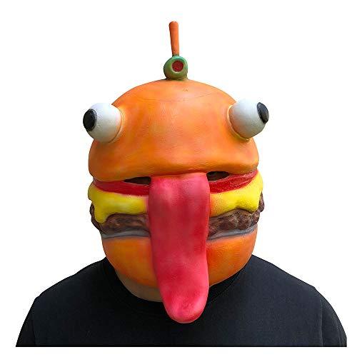 YaPin Neuheit Mode Burger Maske COS Halloween Dance Party Charakter Leistung Requisiten