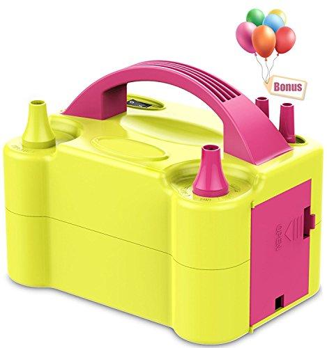 Pompa-Elettronica-per-Gonfiaggio-Palloncini-MTKD-Ideale-per-Feste-e-Cerimonie-Motore-600W-Alta-PotenzaBonus-Palloncini-gratuiti