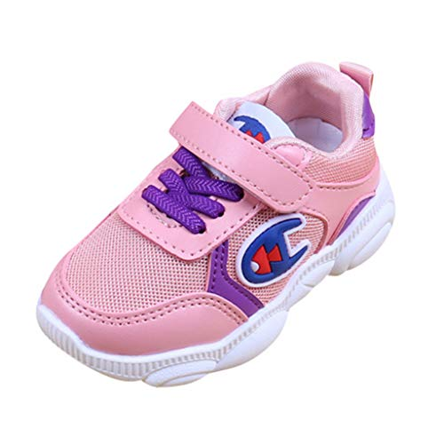 Meilleure Vente LuckyGirlsChaussure de Course Sport Walking Shoes Running Compétition Entraînement Chaussure à la Mode, Sneakers Basket Chaussure Scolaire l'école pour Garçon et Fille Enfa