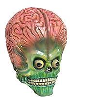 HZJA Halloween Navidad Cráneo Cabeza Aliens Máscara, Látex Adulto Terror Ghost Bar Prom Props Máscara De Miedo